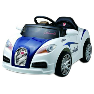 Oh Baby Battery Operated RED Color official licensed product MERCEDES BENZ CAR SE-BOC-57