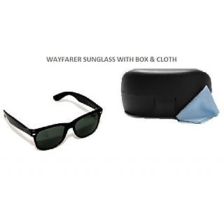 Wayfarer Sunglasses With Box And Cleaning Cloath