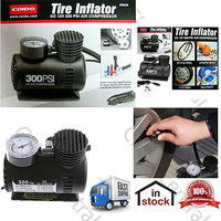 Coido 6526 12V Electric Car Tire Tyre Air Pump Compressor Inflator