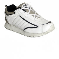 Timberwolf Synthetic Rubber Mens Sports Shoes White TW-1095