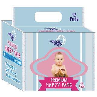 Disposable Max Ansorbent Premium Nappys 12 pcs