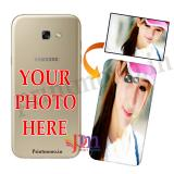 Samsung Galaxy A7 2017 Customized  Personalized 3D Back Case Cover Print Own Photo Design Text PrintMono