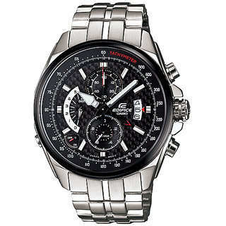 Imported Casio Edifice EF-501 Black With Alarm Chronograph Watch