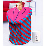 HOME SPA PORTABLE STEAM SAUNA BATH - SLIM DOWN - GIFT FOR SLIMMING WEIGHT LOSS