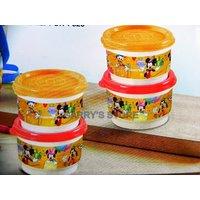 Tupperware Disney Snack Cup Set Of 4