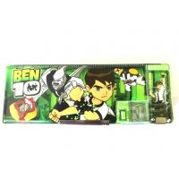 Ben Ten Magnetic Pencil Box With White Board And Marker Inside