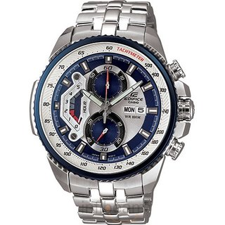 CASIO EDIFICE EF 558D 2AVDF SPORTY CHRONOGRAPH MENS DAY DATE WRIST WATCH GIFT [CLONE]