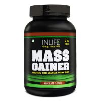 INLIFE Mass Gainer - (2lb) Chocolate Flavour