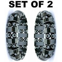 Bio Magnetic Bracelet Pain & Stress Reliever Set Of 2
