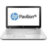 HP Pavilion 15-P045TX Laptop (Intel Core I7/ 8GB/ 1TB/ Win8.1/ 2GB) Snow White