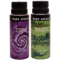 PARK AVENUE STORM+TRANQUIL DEO (PACK OF 2)