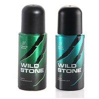 WILD STONE DEO PACK OF 2(FOREST SPICE+AQUA FRESH)