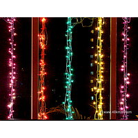Decorative Rice Bulb String Light For Diwali