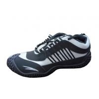 Alex Sports Cool Air Black And White Running Shoes