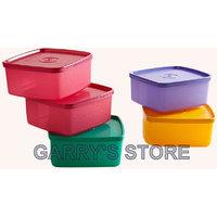 Tupperware Cool & Fresh Small Set Of 5 (Coloured) 460ml