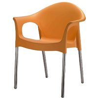 Nilkamal Novella Chair Ns09-Orange