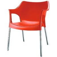 Nilkamal Novella Chair Ns10-Rust