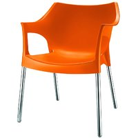 Nilkamal Novella Chair Ns10-Orange