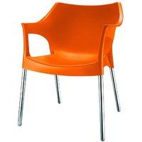 Nilkamal Novella Chair Ns10-Orange