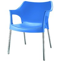 Nilkamal Novella Chair Ns10-Blue