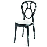 Nilkamal Vap Chair 4041 Iron Black-Cream