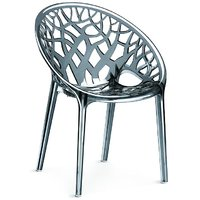 Nilkamal Vap Chair Crystal Pc Dream Grey (Polycarbonate)
