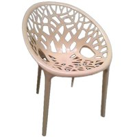 Nilkamal Vap Chair Crystal Pp Biscuit (Polypropylene)