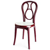 Nilkamal Vap Chair 4041 Maroon-Cream