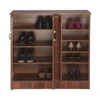 Nilkamal Easton Shoe Rack Rosewood
