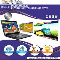 GlobalShiksha CBSE 2 Maths & Science (DVD-Rom)