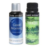 PARK AVENUE TRANQUIL+GOOD MORNING DEO (PACK OF 2)
