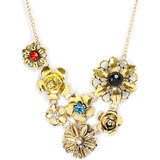 "The Pari Multi Color 14"" Necklace"