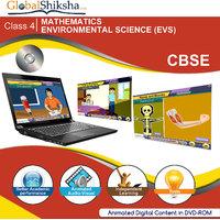 GlobalShiksha CBSE 4 Maths & EVS(DVD-Rom)