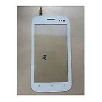 Original Replace Touch Screen Digitizer Glass For Micromax Canvas 2 A110 (White)