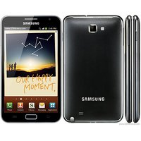 100% Original Samsung Galaxy Note N7000 Mobile Phone Full Housing Body Panel (Black) - 5397962