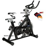 Compare Lifeline Stainless Steel Exercise Fitness Spin Bike Cycle 20 Kg Home Gym+W Band at Compare Hatke