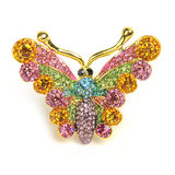 The Pari Stylish MultiColor Ring (TPRI12-63)