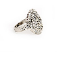 The Pari Trendy Silver Ring (10289358)