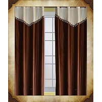 DOOR CURTAIN  / DOOR CURTAINS (SP.DESIGN) [C,BROWN]