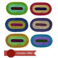 Premium Combo Pack Of 6 Door Mat - 5420154