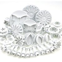33 Piece Cake Decorating/sugarcraft Set Cutters/plungers For Flowers/leaf Shapes