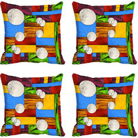 MeSleep Multi Moon Digitally Printed Cushion Covers