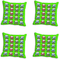 MeSleep Multi Car Digitally Printed Cushion Covers
