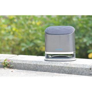 Enzatec Deep Bass Mini Speaker 2.1 Oval (Sp703) Grey