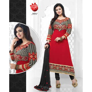 KHUSHALI GEORGETTE SALWAR SUIT AYESHA`s WANTED 02