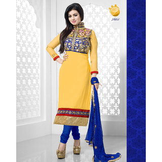 KHUSHALI GEORGETTE SALWAR SUIT AYESHA`s WANTED 05