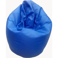 Bean Bag Large Complete With Beans Blue Colour