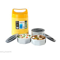 HAANS - Microwaveable Lunch Box 3 Food Grade Container