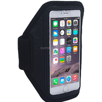Black Sports Armband Case For IPhone 6