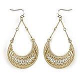 The Pari Fashionable Gold Earrings (TPER-113)